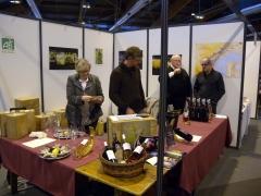 Salon gourmand de Mayenne, vins bios