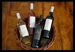 Domaine des Pierres Bleues, cuvée, bouteille, rosé, blanc, vin rouge, Morphê, Quartz, Millefeuille, Roussanne, Syrah, grenache, vin bio
